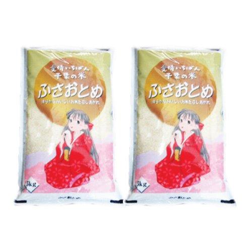千葉県産 白米 ふさおとめ 20kg [5kg×4] 令和2年産 向後米穀