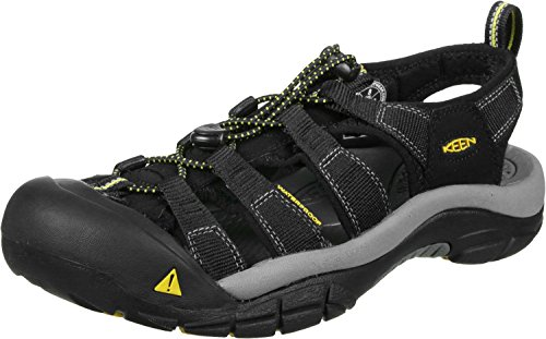 KEEN mens Newport H2 Sandal , Black , 9.5 M US