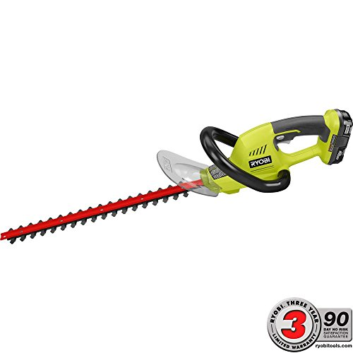 Find Cheap Ryobi ONE+ 18 in. 18-Volt Lithium-Ion Cordless Hedge Trimmer - 1.3 Ah Battery and Charger...