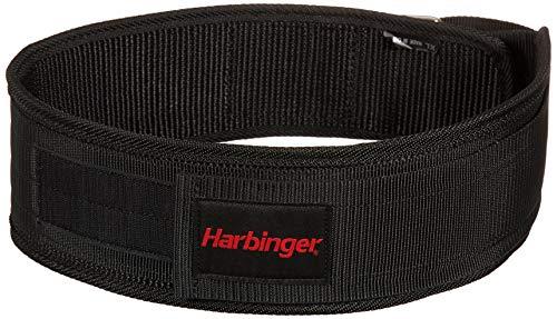 Harbinger Gürtel für Gewichtheber 4 Zoll Nylon Belt, Black, Medium