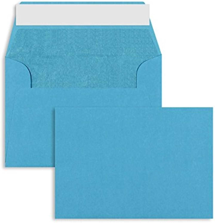Farbige Briefhüllen     Premium   114 x 162 mm (DIN C6) Blau (100 Stück) mit Abziehstreifen   Briefhüllen, KuGrüns, CouGrüns, Umschläge mit 2 Jahren Zufriedenheitsgarantie B00H53SM5A   Gute Qualität  ac8fb6