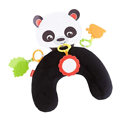 Fisher-Price Panda Activity Juguete y Cojín Activida de S para Bebé Recién Nacido Abbraccia e Gioca, Cuscino per i Neonati, FXB99