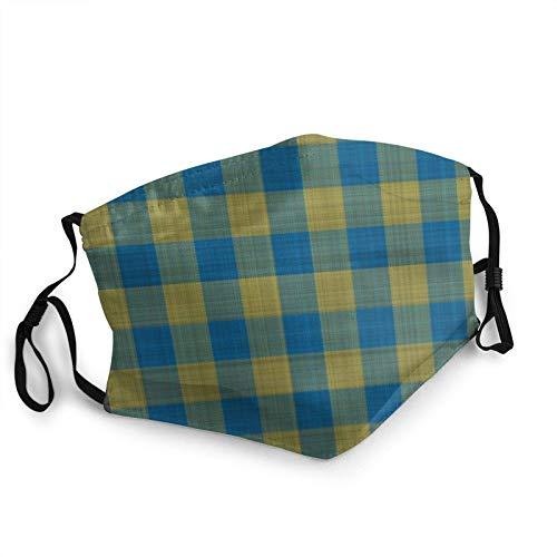 Weiyiroty Cara de tela lavable reutilizable y ajustable para hombres y mujeres.