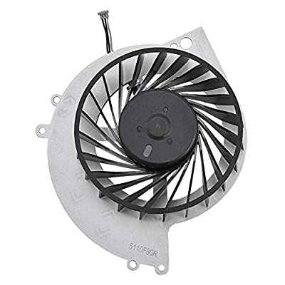 Ymiko Replacement Part Internal CPU Cooling Fan Quite Cooler for PS4-1000 Game Console, Stacked Fin Array