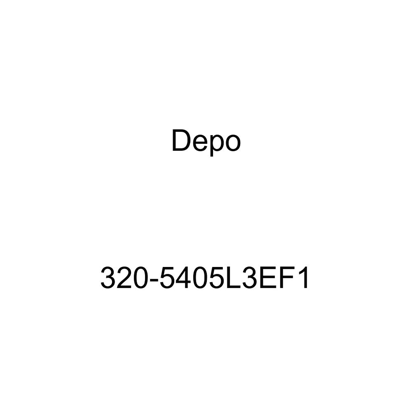 DEPO 320-5405L3EF1 Subaru Forester 09-10 Power Non-Heated Mirror Assembly Driver Side (Textured)