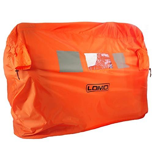 Lomo Notfall Sturmschutz Notzelt Beides Tasche - 2 bis 3 Personen - Orange