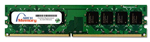 Arch Memory 2 GB 240-Pin DDR2 UDIMM RAM for HP Pavilion p6234f