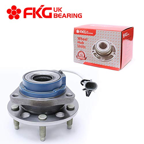 FKG 513179 (FWD Only) Front Wheel Bearing Hub Assembly for Chevy Impala Venture Monte Carlo, Buick Century Regal, Cadillac Seville, Oldsmobile Intrigue, Pontiac Grand Prix, 5 Lugs W/ABS
