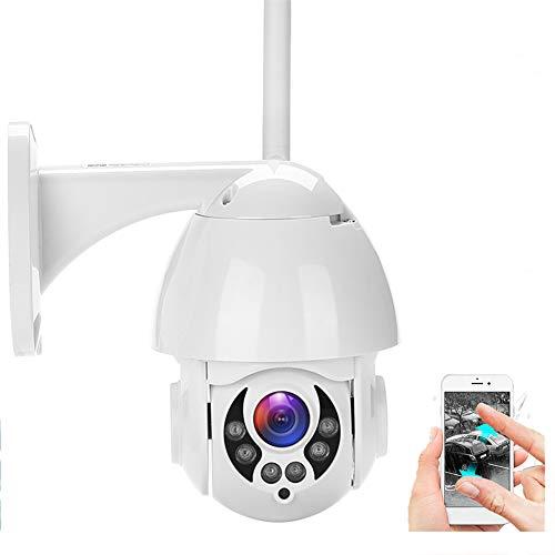 WiFi IP-Kamera, 2MP 1080P PTZ Speed Dome CCTV IR-Funkkamera Outdoor Security Mini-Überwachungskamera