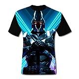 Fort-Night Knight - Camiseta para hombre, diseño gráfico en 3D, manga corta
