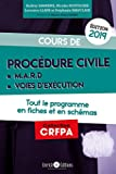 Cours de procédure civile et modes alternatifs de règlement des différends - Tout le programme en fiches et en schémas