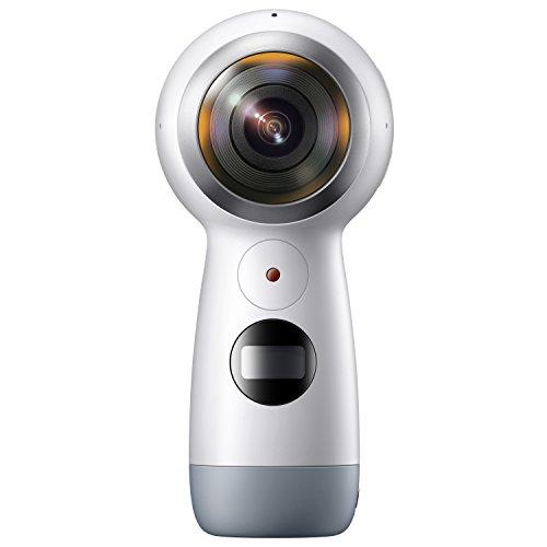 Galaxy 全天球カメラ Gear 360(2017)【Galaxy純正 国内正規品】Galaxy / iPhone対応 ホワイト SM-R21010217JP