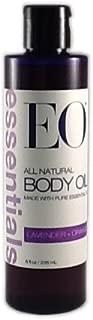 EO Essentials All Natural Body Oil Lavender + Orange 8 Fl Oz.
