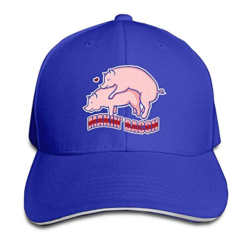 Anotolate Noe Makin' Bacon Dad Hat Adjustable Hat Trucker Cap Baseball Hat