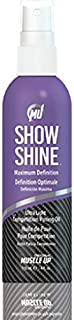 Pro Tan by Original Muscle Up Show Shine Ultra-Light Competition Posing Oil