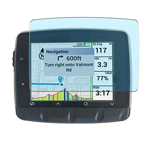Vaxson 3 Unidades Protector de Pantalla Anti Luz Azul, compatible con Stages DASH L50 GPS Cycling Computer [No Vidrio Templado] TPU Película Protectora