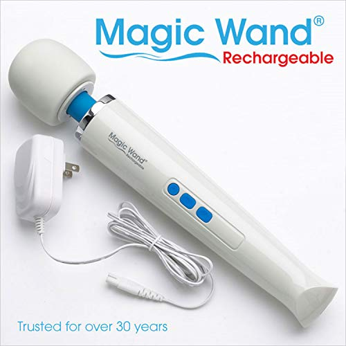 Purchase Original Magic Wand Rechargeable Cordless HV-270 by Vibratex with Free IntiMD Active Person...