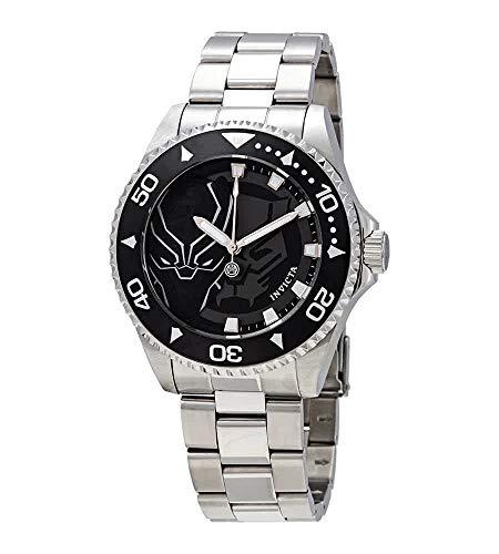 Invicta 29685 Men's Marvel Black Dial Bracelet Quartz Watch
