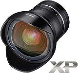 Samyang SAMXP14F24NIKON - Objetivo XP 14mm F2.4 Nikon Ae, Color Negro