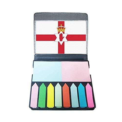 Noord-Ierland Nationale Vlag Europa Land Zelf Stick Note Kleur Pagina Marker Doos