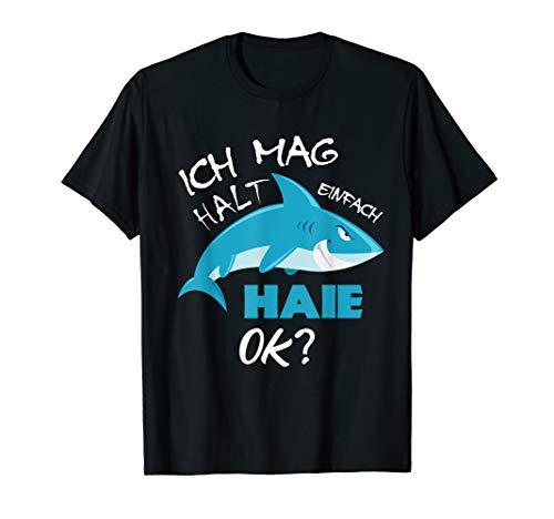 Hai T-Shirt, Ich mag halt einfach Haie Ok? T-Shirt