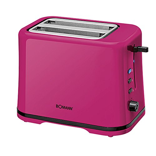Bomann TA 1577 CB Toaster brombeer