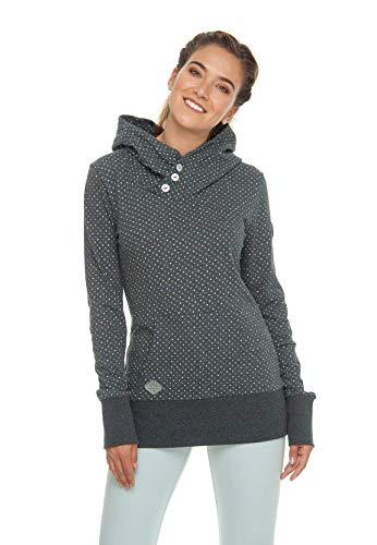 Ragwear Sweater Damen CHEALSEA DOTS 1911-30030 Schwarz Black 1010, Größe:M