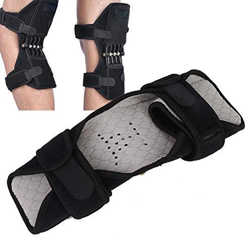 JKUNYU Knee Pads Almohadilla de soporte de elevación de la rodilla, soporte de rodilla Rodilla Levantamiento de la rodilla Brace con soporte de elevación de la rodilla de resorte de rebote, almohadill
