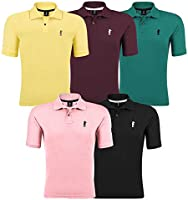 Kit 05 Camisetas Gola Polo   Polo Marine