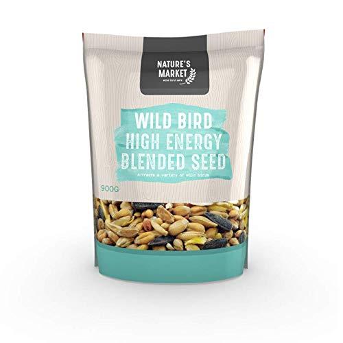 Natures Market King Fisher High Energy Sac de Nourriture pour Oiseaux Sauvages, 0.9 kg