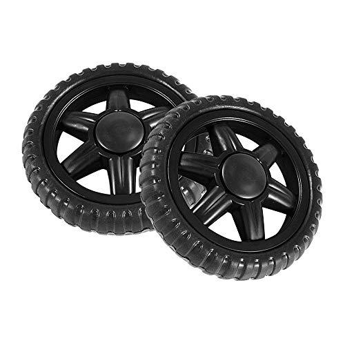 QFDM Wear-Resistant Universal Wheel Viajar Cesta 2pcs de
