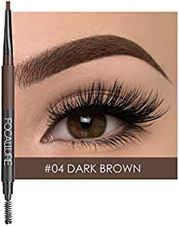 Eyebrow Pencil, Longlasting Waterproof Durable Eyebrow Liner Makeup Brow Stylist Definer Ultra-Fine Pencil and Shaper Brow Hairs & Fills in Sparse Areas & Gaps Eyebrow Gel (Z4)