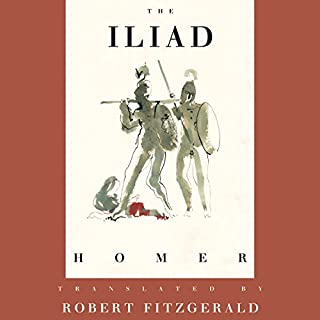 The Iliad     The Fitzgerald Translation              By:                                                                                                                                 Homer,                                                                                        Robert Fitzgerald - translator                               Narrated by:                                                                                                                                 Dan Stevens                      Length: 13 hrs and 59 mins     859 ratings     Overall 4.5