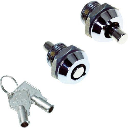 TRUSCO(トラスコ) シリンダー錠 プッシュロックミニ Φ15—20 CL-CA160