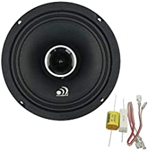Massive Audio P65X - 6 Inch / 6.5 Inch, 240 Watts Max / 120w RMS, 4 Ohm, PX Series, Pro Audio Coaxial Car Audio Speaker System (Sold as Each)