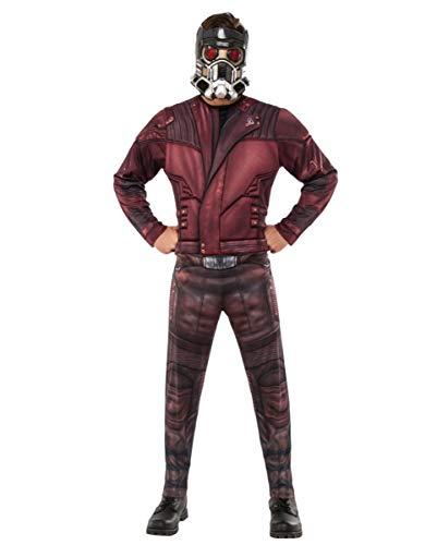 Horror-Shop Star-Lord Kostüm mit Maske als original Guardians of The Galaxy Jumpsuit XL