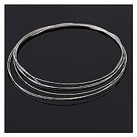 ワイヤーソー ダイヤモンドEmery Jade Glassのための1M 0.26 / 0.38mmのSAWブレード金属ワイヤー DIY.カット53cb 耐久性があり使いやすい (Blade Length : 0.26mm)