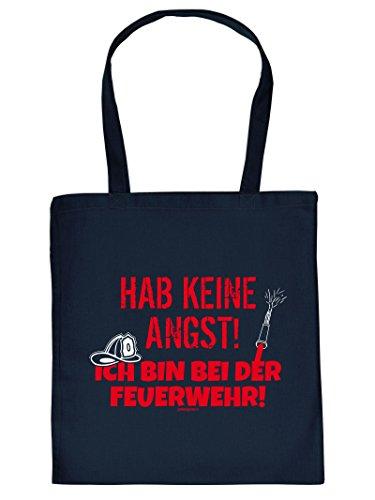 Coole Baumwolltasche für den Feuerwehrmann - Hab Keine Angst! Ich Bin bei der Feuerwehr! Geschenk für Feuerwehrmänner