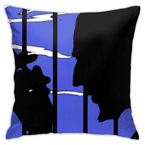 baoan Easy Come, Easy Go - Funda de almohada cuadrada de 45,7 cm x 18 cm