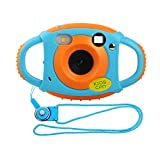 Miavogo Kinderkamera Kamera für Kinder 5 Megapixel 1,77 Zoll LCD, Orange (Generation 2.) -