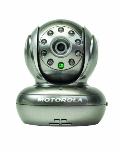 Motorola Blink1 Wi-Fi Video Camera for Remote Viewing with iPhone and Android Smartphones and Tablets, Silver