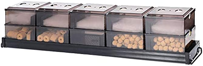 Aquarium Filter Fish Tank Upper Box Filters System for Different Size Fish Tank (You Need to Buy a Pump to fit for This System)
