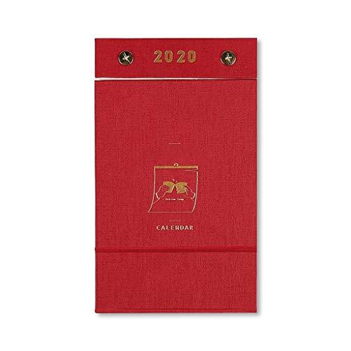 Calendario de la decoración del hogar for la mesa, 2020 Calendario manual pequeña fresca Tear calendario 365 días Año Nuevo calendario de cuenta regresiva del calendario de escritorio calendario Regal