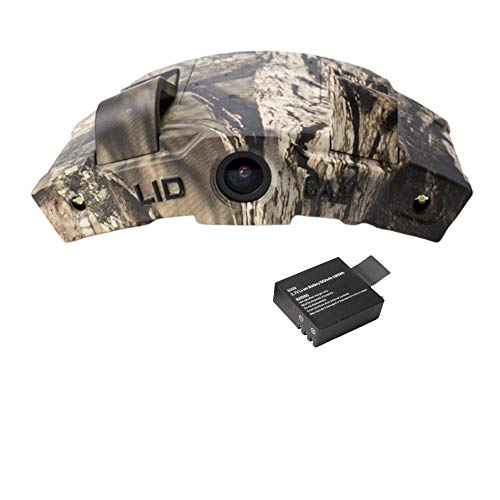 LiDCAM LC-WF Hands Free Digital Camouflage Action Camera, 1080P HD Wi-Fi with Full Audio