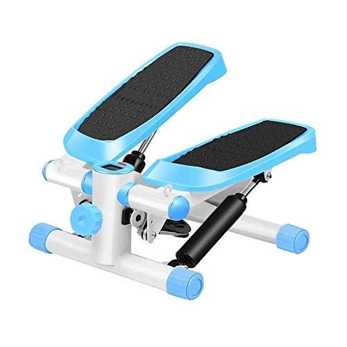 Hammer Escalador escalera paso a paso y cintura de fitness Twister Paso de la máquina con el monitor LCD, banda de resistencia entrenador elíptico de quemaduras 15% más calorías que una bicicleta de e