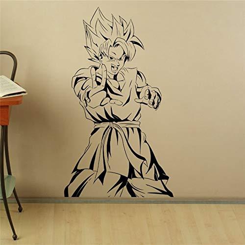 yaonuli Charakter Comics Anime Vinyl Home Interior Schlafzimmer dekorative Kunst Wandaufkleber 48x85CM