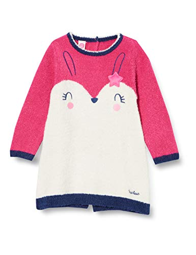 Tuc Tuc Vestido Tricot Chic Bunny, Rosa, 9-12M para Bebés