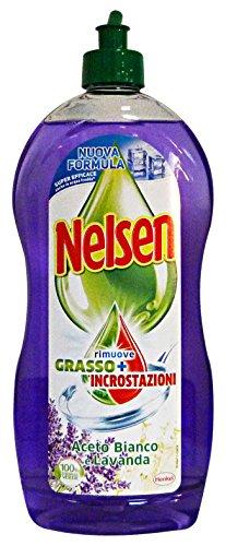 Set 6 NELSEN Platos 900 ml Vinagre Y Lavanda Detergentes Casa
