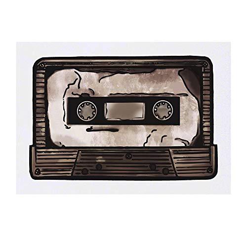 Azeeda Large 'Cassette Tape' Temporary Tattoo (TO00029458)