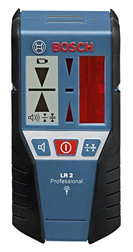 Bosch Professional Laser Empfänger LR2 (Zubehör für Rotationslaser GRL 400 H, GRL 300 HV, im Karton)